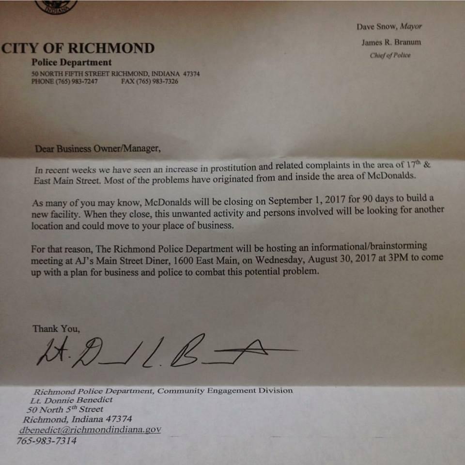 Rpd fears mcdonalds demolition will prompt prostitution shift aljukfo Images