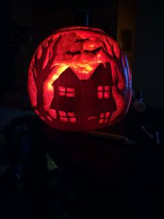 Gourd-forsaken haunted house ????